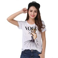 Wholesale xl tube top - Track Ship + Vintage Retro T-shirt Top Tee Purple Sexying Tube Cloth Girl Watching You 0773