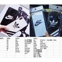 ingrosso telaio del paraurti tpu-Per iPhone XR 8 6 6S 7 plus TPU Frame Bumper glass case Custodia in vetro temperato Custodia protettiva in vetro antiurto