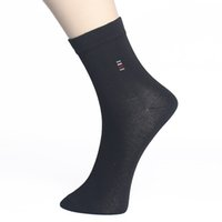 Wholesale brand men cotton business socks resale online - 10pairs Men Socks Casual Business Brand Calcetines Hombre Socks Men Winter Spring Cotton Crew Socks Without Box Cheap Price