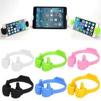 Wholesale lazy bracket tablet online – Colorful Cute Phone Mount Holder Multifunction Universal Phone Holder Tablet PC Stand Lazy Bracket for iPhone