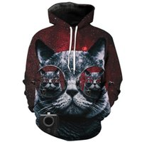 d5e0ee16c51 Wholesale cute plus size pullover hoodies for sale - Newest Fashion Cute  Cats Funny d Print