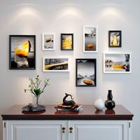 marcos de fotos de madera al por mayor-