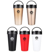 Wholesale hot cup insulated resale online - Hot sales oz Vacuum Insulated Travel Coffee Mug ml Fashion Stainless Steel Tumbler Sweat Tea Cup Thermos Flask Water Bottle