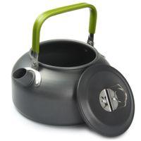 teekannen campen großhandel-Aluminium 0.8L Tragbare Ultra-leichte Teekanne Wandern Picknick Camping Überleben Kaffee Wasser Teekanne Wasserkocher Topf für Reisen Kochen