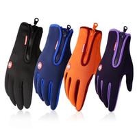 winter motorrad handschuhe großhandel-Neue angekommene Marke Frauen Männer Ski Handschuhe Snowboard Handschuhe Motorrad Reiten Winter Touchscreen Schnee Laufhandschuh