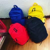 функциональный бренд оптовых-Бренд школьные рюкзаки 4 цвета большой емкости повседневная мода сумки на ремне мужчины женщины многофункциональный спорт открытый рюкзаки