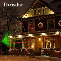 ingrosso paesaggio verde del prato inglese-Outdoor Moving Full Sky Star Lampada per proiettore laser di Natale GreenRed LED Stage Light Outdoor Landscape Prato Garden Light