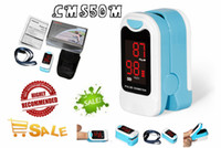 Wholesale pulse oximeter ratings resale online - CONTEC CMS50M New Fingertip Pulse Oximeter Blood Oxygen Saturation SPO2 Heart Rate Monito With Carry Case and Lanyard