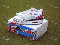 zapatos de goma blancos para las mujeres al por mayor-New Piet Parra Maxes 1 Hombre Mujer Blanco Multi Gris Azul Zapatillas deportivas Deportivas Suela de goma Entrenadores Diseñador Athletic Sneakers AT3057-100