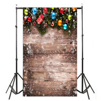 Wholesale christmas photo backdrops resale online - Allloyseed x5ft Christmas Balloon Retro Vinyl Studio Photo Backdrop Photography Props background of live streaming D effect