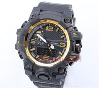 Wholesale display plastic tags for sale - Group buy New style Fashon men s sports watches Display LED Fashion army military shocking watches men Casual Watches