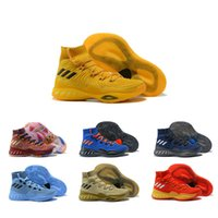Wholesale youth basketball shoes cheap - Brands Men's Basketball Shoes Cheap Crazy Explosive Red White Black Andrew Wiggins Crazy Explosive Youth Wall 3 Boost Sport Sneakers