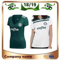 2019 Palmeiras Mulher   10 MOISES camisa de futebol 18 19 Casa verde   9  BORJA Camisa de Futebol Fora Branco   7 DUDU menina uniforme de futebol 9719bfa9e79be
