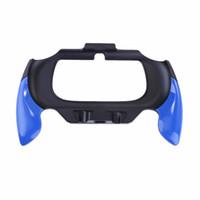 cubiertas para ps vita al por mayor-Gamepad Plastic Grip Handle Holder Holder Case para Sony PSV PS Vita 2000 Controlador de manos libres Cubierta protectora Accesorios de juego