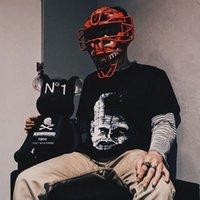 empreintes de clous achat en gros de-18ss ellraiser Joint Pinhead Tee Rétro Rue Nail Head Fantôme Imprimer T-shirt Ample T-shirt Amoureux Pour Homme Et Femme HFWPTX192