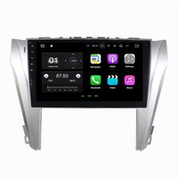 Wholesale dvd radio for toyota camry resale online - Android Quad Core Car DVD Car Radio GPS Multimedia Head Unit for Toyota Camry With GB RAM Bluetooth WIFI Mirror link