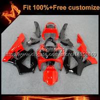 honda cbr 929 обтекатель красный оптовых-23colors8Gifts Литье под давлением черный красный капот мотоцикла для HONDA CBR929RR 2000-2001 CBR 929 RR 00 01 АБС-пластик Обтекатель