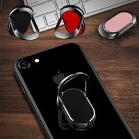 Wholesale navy blue buttons for sale resale online - Hot sale For iphoneX cellphone flat ring bracket ring back button degree rotating ring buckle magnetic mobile phone bracket buckle