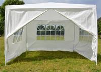 Wholesale wedding tent lighting for sale - Outdoor White Tent Waterproof Light Thin Praetorium Garden Party Wedding Tents With Windows Eco Friendly Decoration Canopy jy jj