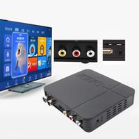 box tv dvb t оптовых-Телевизионная приставка цифрового наземного приемника K2 HD DVB-T2 с мультимедийным проигрывателем H.264 / MPEG-2/4 Совместимо с DVB-T для ТВ HDTV