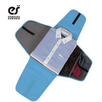 рубашки оптовых-ECOSUSI камера путешествия одежда папка бизнес рубашка упаковка организаторы путешествия аксессуары для бизнеса организатор для галстуков