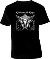 дизайн панк-майка оптовых-Kottonmouth Kings West Coast OC Rap Punk черный футболка незнакомец вещи дизайн футболки 2017 новый мужской моды черный хлопок