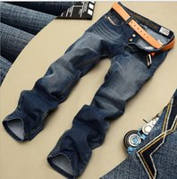 Wholesale Fly America - Hot! Spring and autumn New Men's jeans Europe America style Slim Retro Straight Explosions Leisure fashion Jeans men
