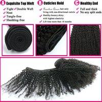 bakire mongolian kinky kıvırcık saçları topluyor toptan satış-8A Ucuz Moğol Afro Kinky Kıvırcık Bakire Saç 4 Demetleri Kinky Kıvırcık Afro Curl Moğol Kinky Kıvırcık Saç Doğal İnsan Saç Ücretsiz Kargo