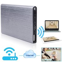 Wholesale Battery Powered Dvr - Mini Camera I6 P2P Night Vision HD 1080P WIFI mobile Power Bank External Battery Wireless IP Cameras Security DVR Video Motion Detector