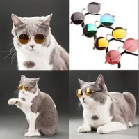 Wholesale small dog sunglasses for sale - Pet Accessories Cat Dog Glasses Pet Sunglasses Small Dogs Cat Eye wear Protection Pet Cool Glasses Photos Props KKA5210