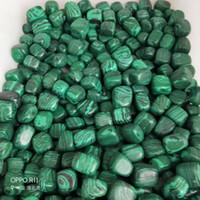 wicca steine großhandel-1 / 2lb Bulk Malachit Steine getrommelt aus Afrika - Natürliche polierte Edelsteine für Wicca, Reiki und Energy Crystal HealingWholesale