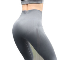 große frauen strumpfhosen großhandel-Frauen-Yoga-Sport-Gamaschen-hohe Taillen-Eignungs-Legging für hohe elastische Eignungs-Sport-dünne laufende Strumpfhosen Sportswear trägt Hosen zur Schau