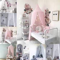 Wholesale Princess Curtains - Princess Baby Crib Netting Ger Type Mosquito Net Bed Kids Canopy Bedcover Curtain Bedding Dome Tent
