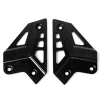 ingrosso piedini per i motocicli-Accessori moto CNC Foot Peg Protezione tallone Protezione pellicola proteggi tallone Protector per Kawasaki Z900 2017-2018