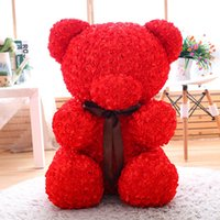 Wholesale cheap toys for sale - 60cm unstuffed empty rose bear teddy bear soft toy skins shell coats animals Cheap Pirce Girlfriends Presents