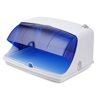 Wholesale tools sterilizer box - Professional AC 110-240V Multiple Nail Tools UV Sterilizer Machine Manicure Cleaner Box Sterilizing Disinfecting Nail Equipment