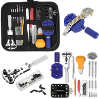 bar link kit großhandel-146 PCS Uhr Repair Tool Kit Uhrmacher Gehäuseöffner Link Remover Spring Bar Uhren Repair Tool Kits Set für rolex_watch