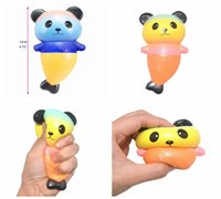Wholesale wholesale mermaid toy for sale - Squishy Panda Mermaid Slow Rising Scented Cartoon Soft Squeezable Simulation Dolls Gift Anti stress Toy Amazing DDA225