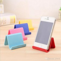 Wholesale printing color codes - Korean creative air portable business card holder mobile phone lazy mobile phone holder can print logo two-dimensional code