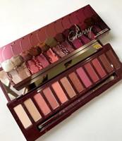 Wholesale 12 color eyeshadow palette online - lowest price hot new arrivals makeup Palette color NUDE Cherry eyeshadow Palette eyeshadow palettes ePacket