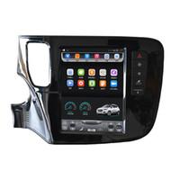 Wholesale outlander sport - for 2013-2018 new Mitsubishi ASX RVR Outlander Sport Lancer 10.4 inch Tesla Vertical touch Screen Android Car GPS Navigation