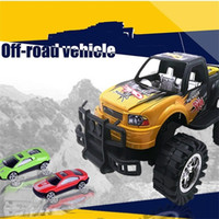 Wholesale large truck toy - Model Car Jeep Alloy Automobile Boy Kid Toys Off Road Vehicle Inertia Large Child Birthday Christmas Gift Most Cheap 13 8ht V