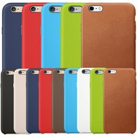 Wholesale apple iphone 5s original leather case for sale – best Have LOGO Original Official New PU Leather Case Retro Business Hard Soft Cover Case For Apple iPhone Pro Max XS XR X S Plus S