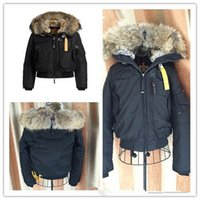 Wholesale parajumpers - Hot Sale parajumpers Luxury gobi women s down Jacket Hoodies Fur Fashionable Winter