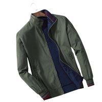 3b49760c01679 C1014 2018 primavera e autunno nuovi uomini stanno collare che porta il  cappotto sottile del rivestimento degli uomini casuali di modo a buon  mercato ...