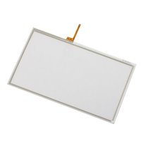 Wholesale original wii controller for sale - Group buy Original Replacement Controller Glass Touch Screen Digitizer Pad Spare for Wii U GamePad Repair Parts DHL FEDEX EMS