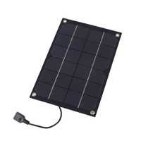 Wholesale solar panel battery 6v resale online - 6W V output Solar Panel Battery Cells voltage Charger controller MAX A USB Output Devices Portable Smartphones shared bike