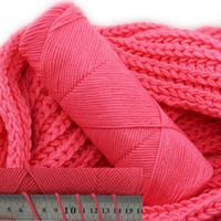 roupas de bebê tricotadas à mão venda por atacado-Mylb 1 pcs = 50g fio de algodão de leite suave mão tricô fio de lã diy tecer fio para o bebê de malha de crochê cachecóis roupas