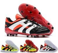 acelerador al por mayor-Original 2018 Predator Accelerator Electricity FG DB dream back 98 TR Se convierte en 1998 98 Hombres zapatos de fútbol botines de fútbol Tamaño 39-45
