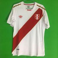 Wholesale Top Quality Jerseys - Top Thailand quality 2018 peru soccer jerseys Home 18 19 football soccer kits shirt camisetas de futbol Peru jersey maillot de foot camisa